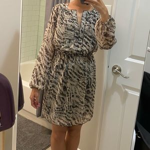 Max Studio animal print dress